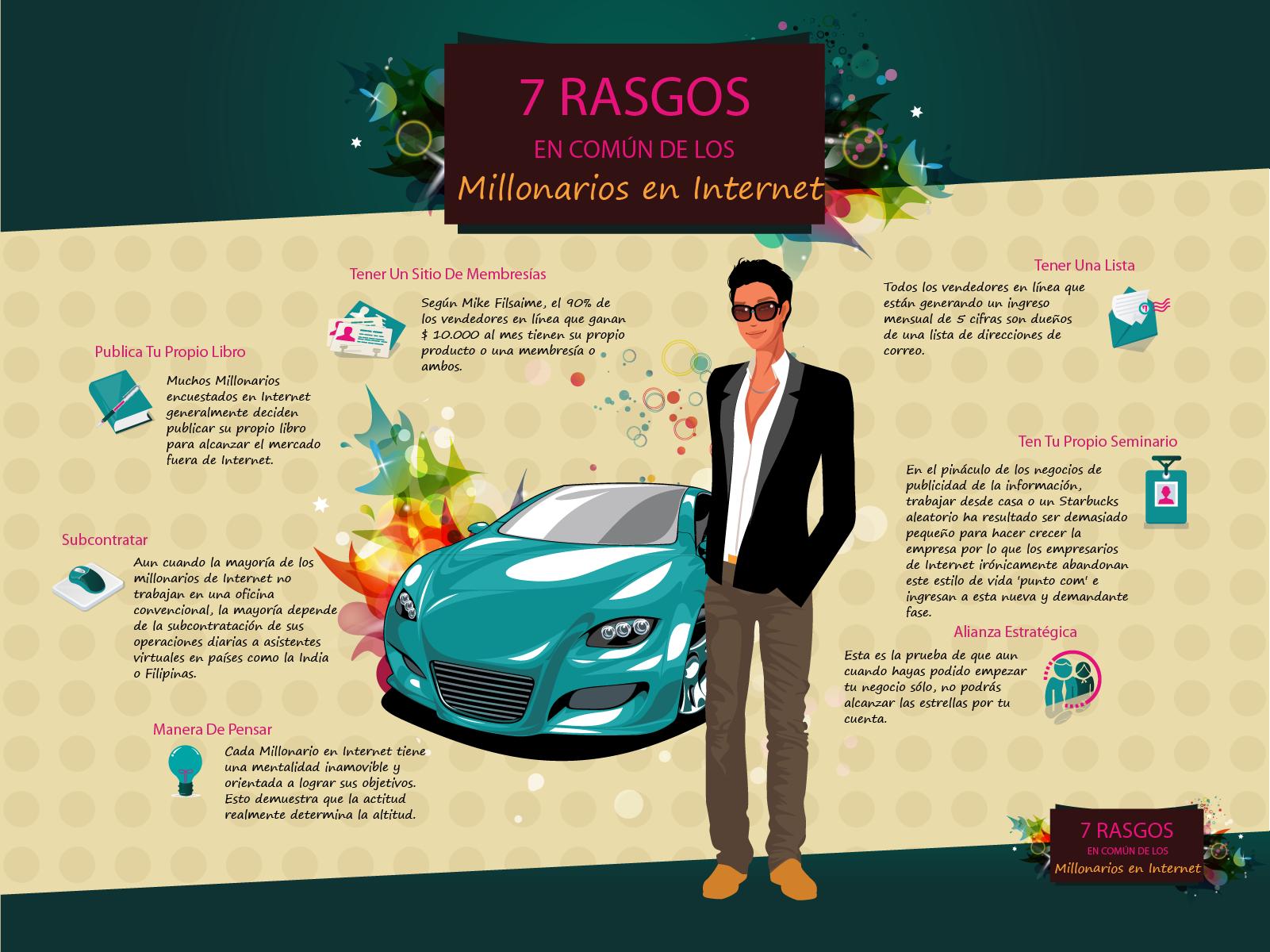 07---7 RASGOS EN  COMUN DE LOS MILLONARIOS EN INTERNET